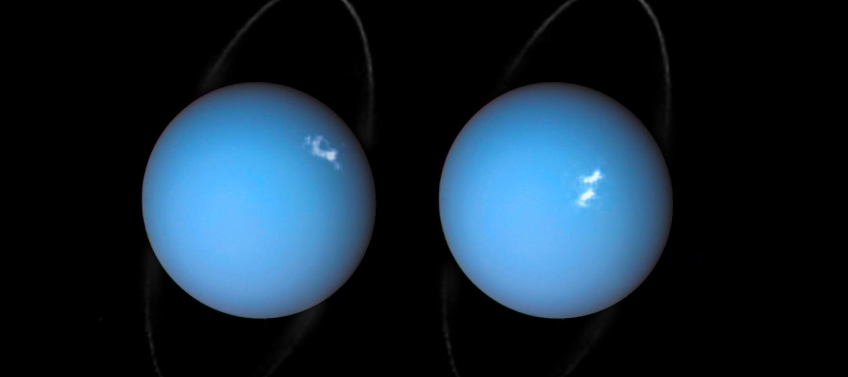 Uranus pôles magnétiques