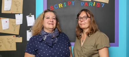 Rachel Frizot et Christine Rampon