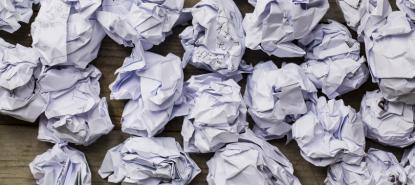 Le tri du papier à Paris Diderot