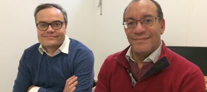 Pierre-François Ceccaldi et Patrick Plaisance