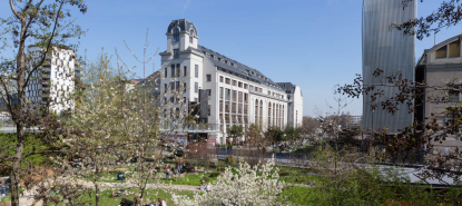 Campus Paris Diderot au Printemps